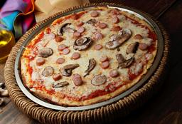 Keto Pizza Salchicha /2.5g Net Carbs