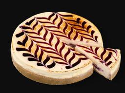 Cheesecake de Frambuesa Completo
