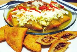 Chilaquiles Rellenos