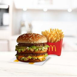 Home Office con Big Mac
