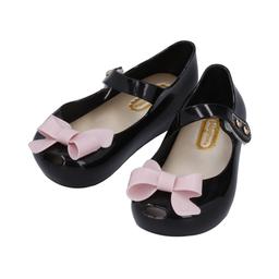 Baby Room Zapatos Entrenador Negro y Rosa 13 cm Z0401