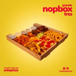 NopBox  3 + Pizza de Peperonni