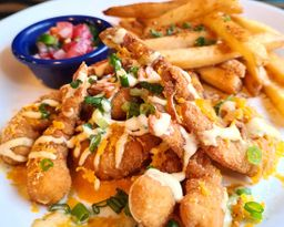 Loaded Shrimp and Fries