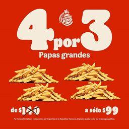 4x3 Papas Grandes