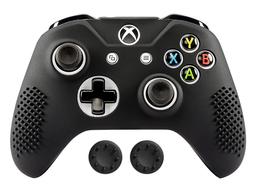 MandaLibre Funda Silicona Para Control Xbox One S/X Negro