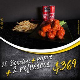 Combo 20 Boneless Coca-Cola