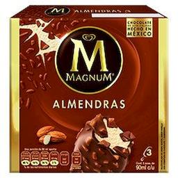 Magnum Paleta Helada Chocolate y Almendra