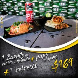 Combo Burrito Coca-Cola