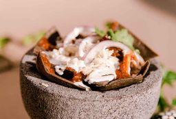 Chilaquiles con Cochinita