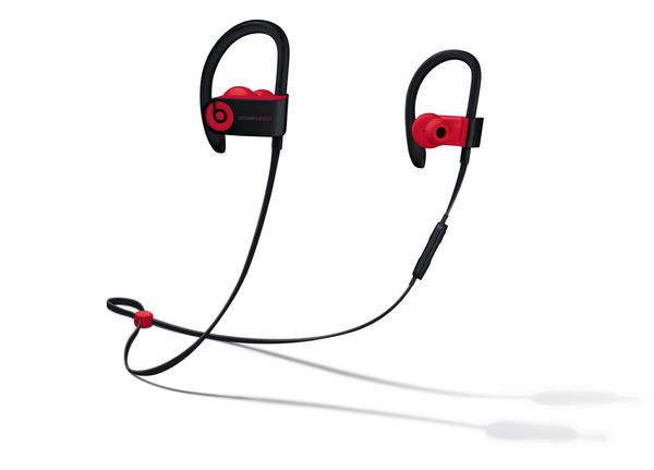 Beats Audífono Wireless Powerbeats 3 Color Negro Con Rojo