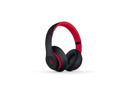 Beats Audífono Studio 3 Color Negro Con Rojo