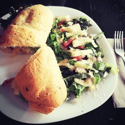 Baguette con Pollo Picosito