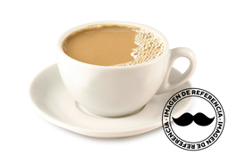 Latte Rompope Frío 16 Oz