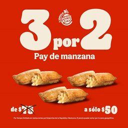 3x2 Pay de Manzana