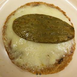 Sope de Nopal con Queso