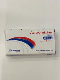 Laboratorios Alpharma Azitromicina (500 Mg)
