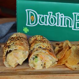 Shrimp And Chips Dublin Bake