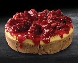 Pastel de Cheesecake de fresa