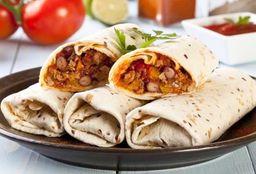 Burrito Huevo en Salsa