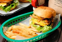 Combo Big Boneless Burger Slider