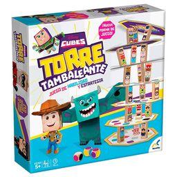 Juego de Torre Tambaleante Disney Cubes