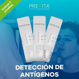 Prueba de Detección de Antígenos Covid-19
