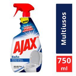 Limpiador Líquido Ajax Baño 750 mL