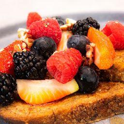 Pan francés berries
