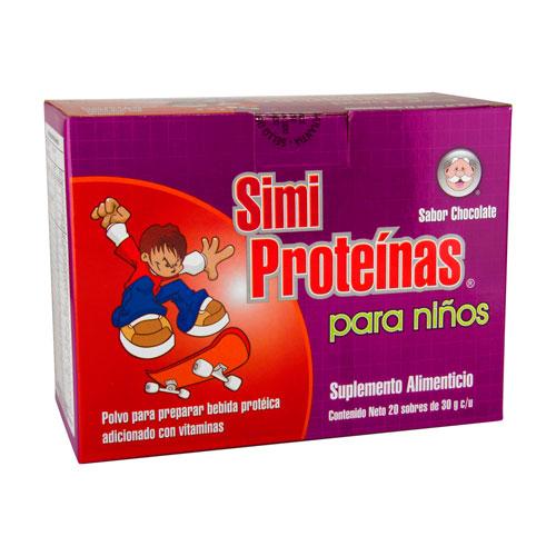 Comprar Prot Simiproteinas Niños Choco 20Sob
