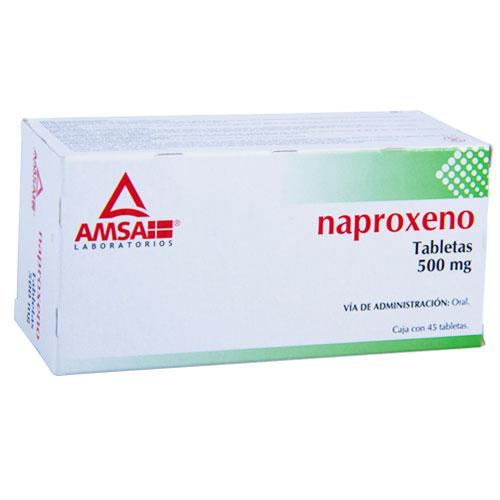 Comprar Naproxeno 500Mg 45Tab
