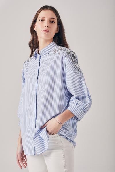 Rapsodia Camisa Louise Stripes