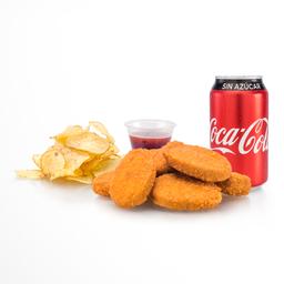 Paquete Nuggets con Salsa Picante