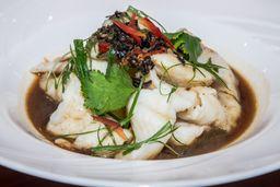 Filete de Pescado Cantonés