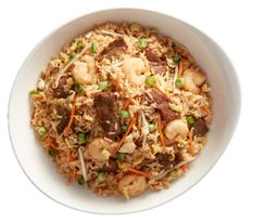 Fried Rice Beef Platter (6-8 personas)