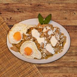 Huaraches de Huevo