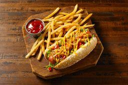 All American hot dog