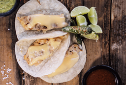Tacos de Fajitas de Pollo