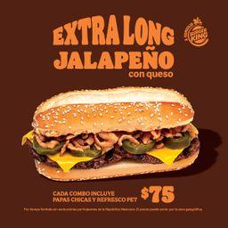 Extra Long jalapeño queso