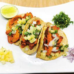 Orden de  (5) Tacos al Pastor