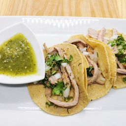 Tacos de Bistec de Res