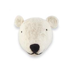 The Home Store Soporte de Pared Mini Oso Polar