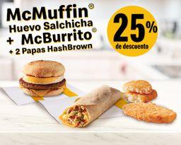 McMuffin Huevo Salchicha