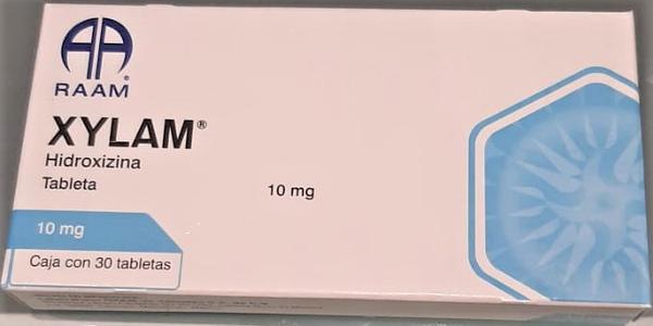 Comprar Xylam Hidroxizina (10 Mg)