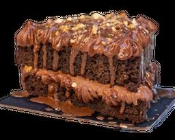 Hazelnut Brownie Cake