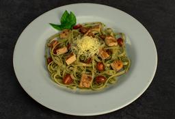 Fetuccini al  Pesto