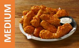 Original Hooters Style Wings Medium