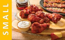 Bacon Wrapped Wings Small