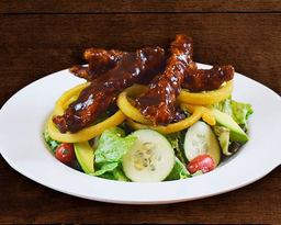 BBQ Chicken Strip Salad