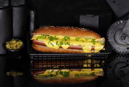 Hot Dog Queso Fundido