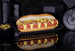 Hot Dog 3 Toppings
